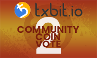 Txbit Community Coin Vote 02