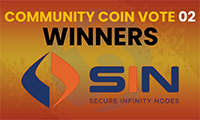 2nd Community Coin Vote Winners