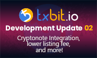 Txbit Development Update 02