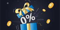 0% trading fee!