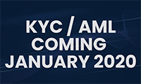 KYC/AML coming January 2020
