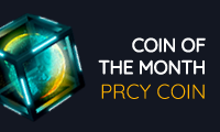 PRCY - Coin of the Month