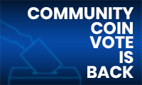 Community Coin Vote is coming back!