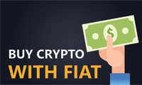 Buy cryptocurrencies with FIAT