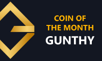Gunthy - Coin of the Month