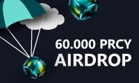 Mega PRCY Airdrop on Txbit!