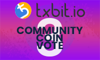 Txbit Community Coin Vote 03