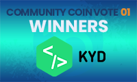 1st Community Coin Vote Winners